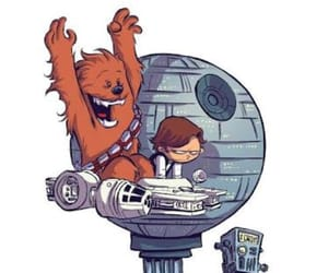 chewy, chewbacca, and han solo image