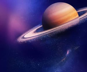 kermit the frog, space, and saturn image