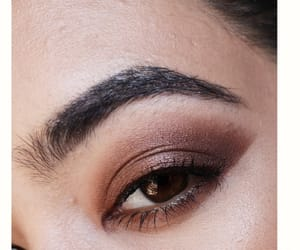 eyebrows, fashion, and makeup image