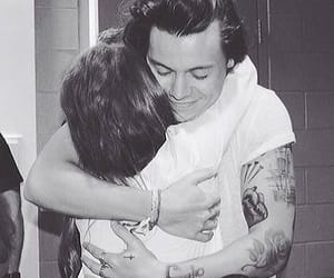 fans, hug, and Harry Styles image