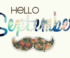 September, welcome, and new month image