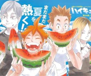 manga, hinata shouyou, and haikyuu image