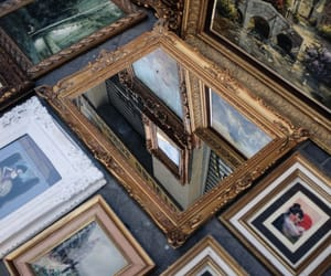 art, mirror, and gallery image