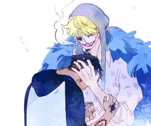 corazon, Law, and onepiece image