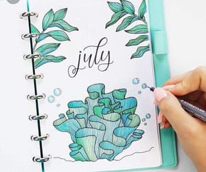 ideas, july, and notebook image