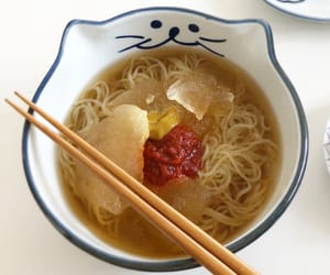 cute food, food, and noodles image