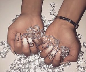 Braclet, glitter, and Nude image