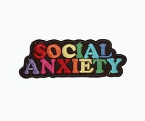 article, scared, and social anxiety image