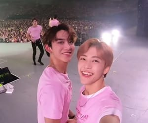 lucas, jaemin, and nct image