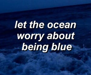 blue, english, and ocean image
