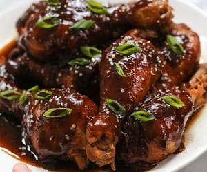 teriyaki chicken, paleo chicken recipes, and chicken drumsticks image