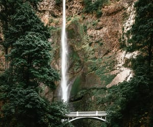 falls, Multnomah Falls, and nature image