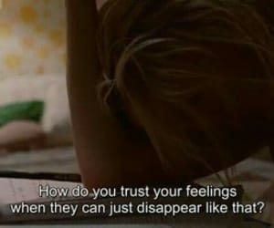 disappear, feelings, and movies image