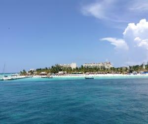azul, beach, and cielo image