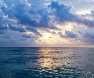 beach, sun, and beauty image