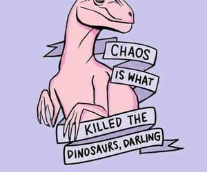 pink, dinosaur, and wallpaper image