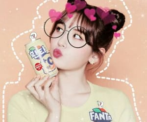 girl, header, and somi image