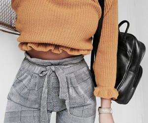 bag, stripes, and fashion image