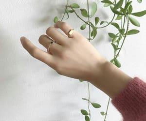 aesthetics, hand, and inspiration image