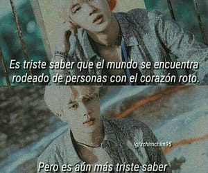 frases, jin, and k-pop image