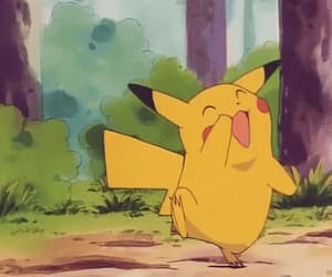 anime, pikachu, and anime gif image