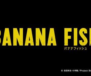 anime, banana, and fish image