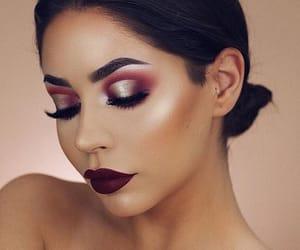 cosmetic, eyeshadow, and girl image