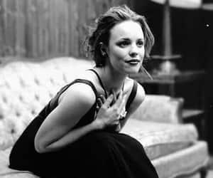 actress, beautiful, and black&white image