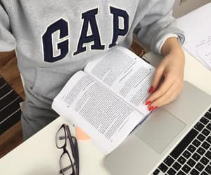 college, GAp, and macbook image