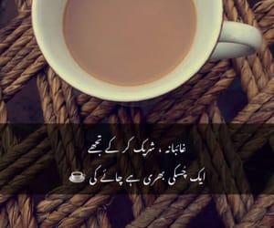 pakistani, tea lovers, and shayari image