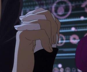 gif, anime, and sad image
