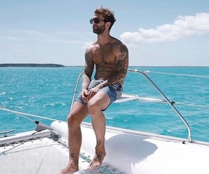 model, summer, and andre hamann image