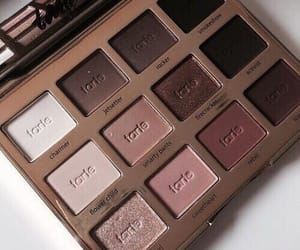 beauty, palette, and eyeshadow image