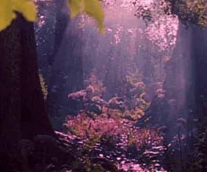 fairytale, purple, and gif image