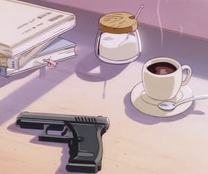 80s, anime, and gif image