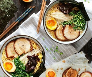 food, ramen, and asian food image