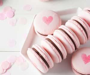 pink, food, and dessert image