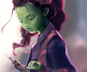 film, gamora, and the guardian of galaxy image