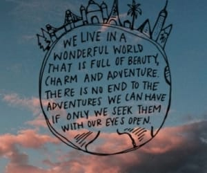 quotes, travel, and sky image