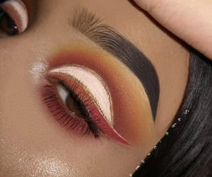 beauty, cosmetics, and eyes image