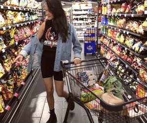 grocery and grocery shopping image