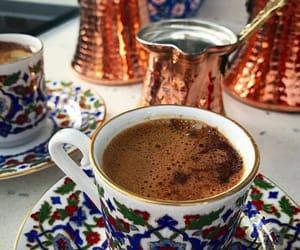 coffee, turkish coffee, and türk kahvesi image