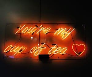 orange, love, and glow image