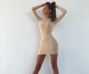 fashion, body, and dress image