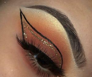 beauty, cosmetics, and eyes image