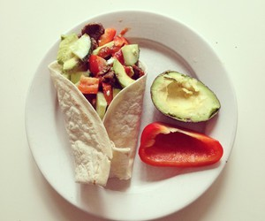 avocado, burrito, and food image