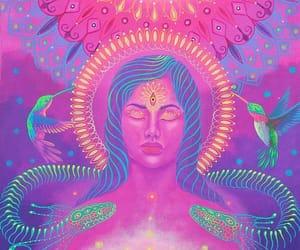chakras, mandela, and meditation image