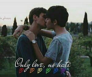 boys, gay, and kiss image