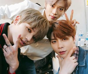johnny, kpop, and squad image
