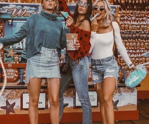 blondies, brunette, and fashion image
